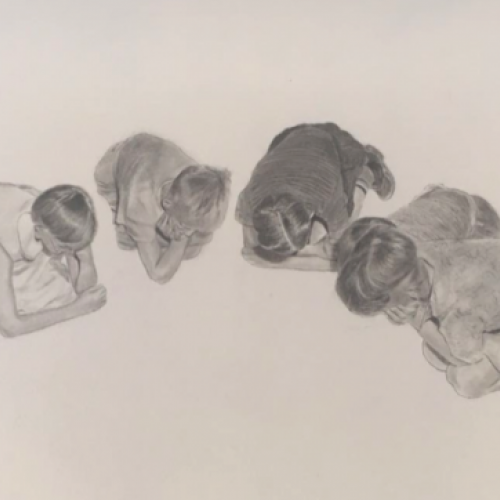Suelo Graphite on paper 30x40cm  CHF 1550