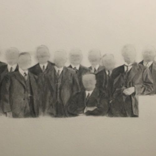 Sesion Graphite on paper 30x40cm  CHF 1550